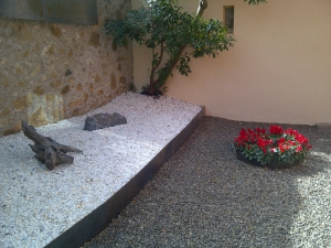 renovación jardin