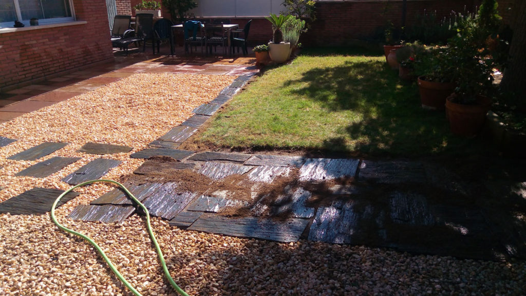 Renovación del Jardín